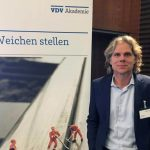 Thomas Korn as Speaker on the 3rd VDV-Omnibustage in Dusseldorf