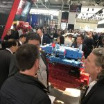 Bauma 2019 – Exhibition Booth DEUTZ: Vivid interest from all over the world in the DEUTZ hydrogen engine with KEYOU-inside technology