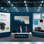 KEYOU booth Hydrogen Online Conference